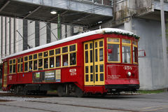 Streetcar in New Orleans Royalty Free Stock Image