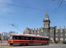 Streetcar in Toronto Stock Image
