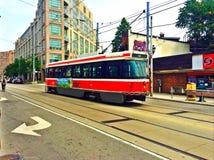 streetcar toronto arkivbilder