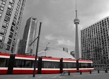 Streetcar In Toronto Stock Photos