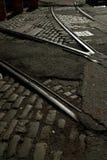 Railway Tracks Brooklyn New York USA Stock Image