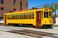 Streetcar in Ybor City Stock Photography