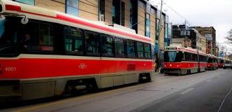 streetcars Royalty-vrije Stock Foto's