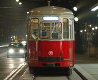 streetcarspårvagn vienna Royaltyfri Fotografi