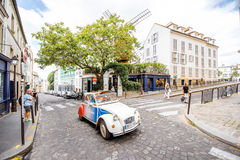 Streete widok w Paryż Zdjęcia Stock