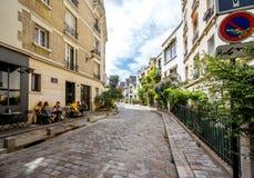 Streete widok w Paryż Obraz Royalty Free