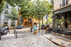 Streete widok w Paryż Obrazy Stock