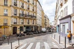 Streete widok w Paryż Fotografia Royalty Free