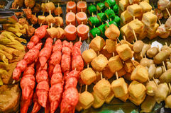 Streetfood cambodgien photo libre de droits