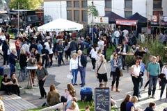 Streetfood festiwal Mainz Zdjęcie Stock