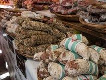 Streetfood i Italien Arkivbild