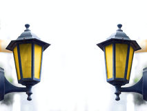 Streetlamp. Street lamp in Shanghai, photo taken on January 30th 2010 Royalty Free Stock Photography