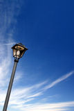 Streetlamp. Over blue sky Stock Images