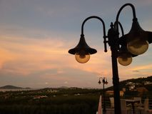 Streetlamp Obraz Royalty Free