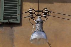Streetlamp in Bergamo Stock Photography