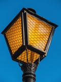 Streetlamp over the sky Stock Photography