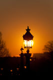 Streetlamp in Paris Royalty Free Stock Photos