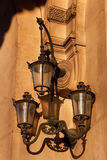 Streetlamp in Paris Stock Images