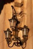 Streetlamp in Paris Stock Images