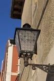 Streetlamp in Plentzia, Bizkaia Royalty Free Stock Photos