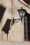 Streetlamp in Salamanca Royalty Free Stock Photos