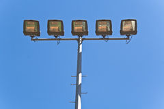 Streetlamps Stock Photo