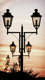 Streetlamps Stock Images