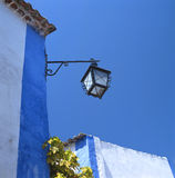 Streetlantern in Obidos Royalty Free Stock Photos
