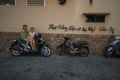 Streetlife à Ho Chi Minh Ville photographie stock