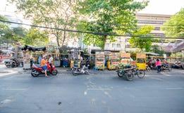 Streetlife в Хошимине Стоковая Фотография