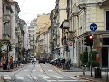Streetlife de Milan Image libre de droits