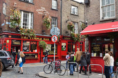 Streetlife in Dublin Royalty Free Stock Images