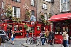 Streetlife a Dublino Immagini Stock Libere da Diritti