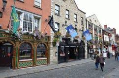 Streetlife en Dublín Imagen de archivo libre de regalías