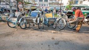 Streetlife a Ho Chi Minh City Fotografia Stock