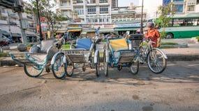 Streetlife in Ho-Chi-Minh-Stad royalty-vrije stock fotografie