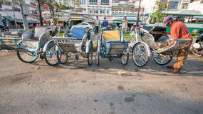 Streetlife in Ho Chi Minh Stadt stockfoto
