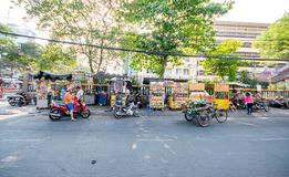 Streetlife in Hochiminh City Stock Photography