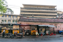Streetlife in Hochiminh City Stock Image