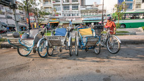 Streetlife in Hochiminh City royalty free stock photography