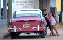 Streetlife Kuba arkivfoto