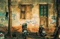 Streetlife, Vietnam, Leben, Haus Lizenzfreies Stockfoto