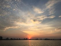 Streetlife, Vietnam, Leben, Sonnenuntergang, Westsee Stockfoto