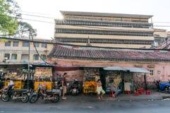 Streetlife w Hochiminh mieście Obraz Stock