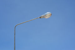 Streetlight with beautiful sky background Stock Image