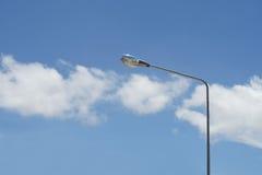 Streetlight with beautiful sky background Stock Photos
