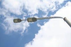 Streetlight dzień Obrazy Stock