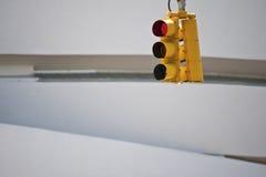 Streetlight, Guggenheim Museum Royalty Free Stock Images