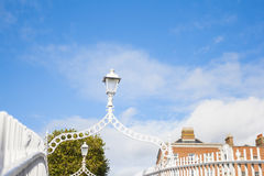 Streetlight on Half Penny Bridge Stock Image