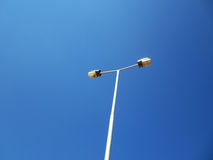 Streetlight. Illustration on blue sky Stock Image